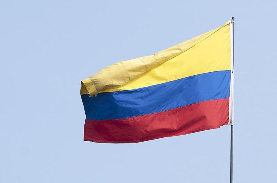 Kolumbijos vėliava