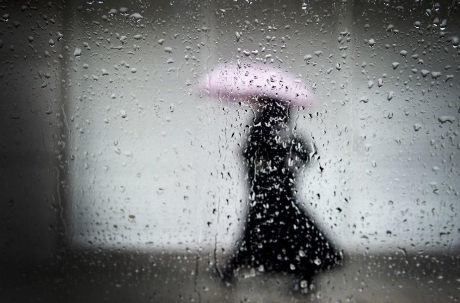 Likusi savaitė bus lietinga ir gana šilta