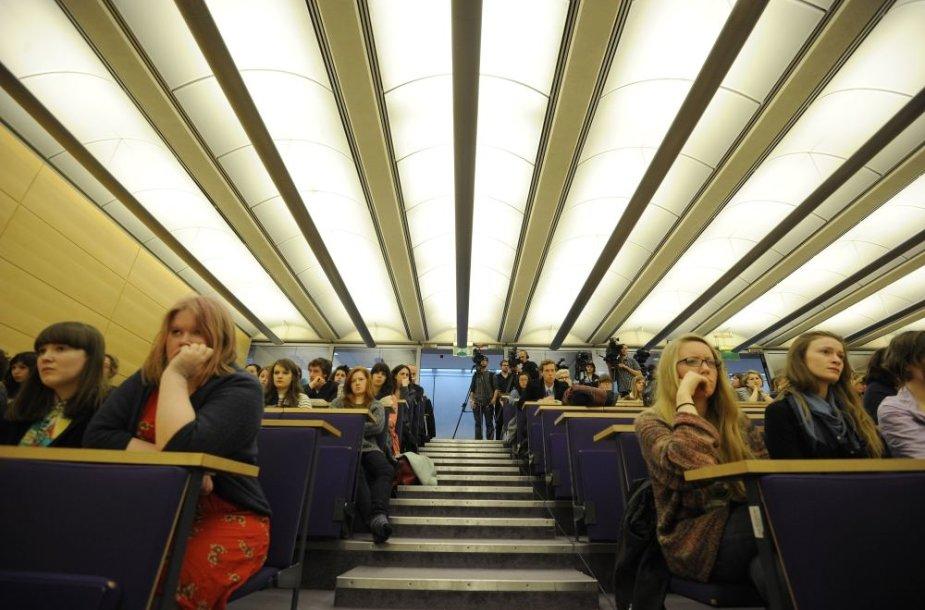 Kembridžo universiteto studentai