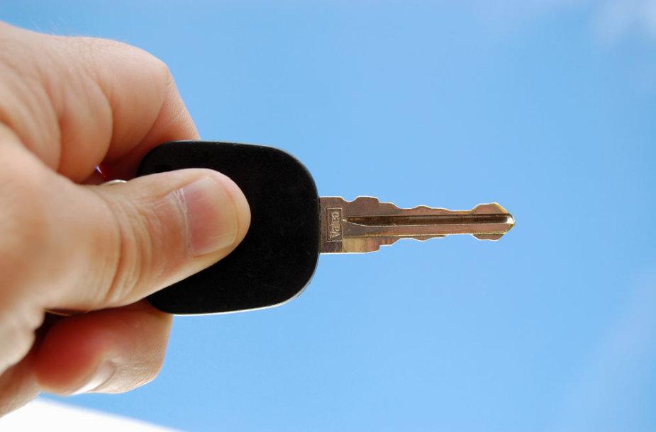Automobilio raktelis