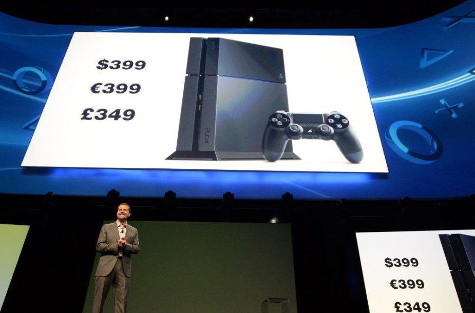 """Žaidimų konsolė """"PlayStation 4"""""""
