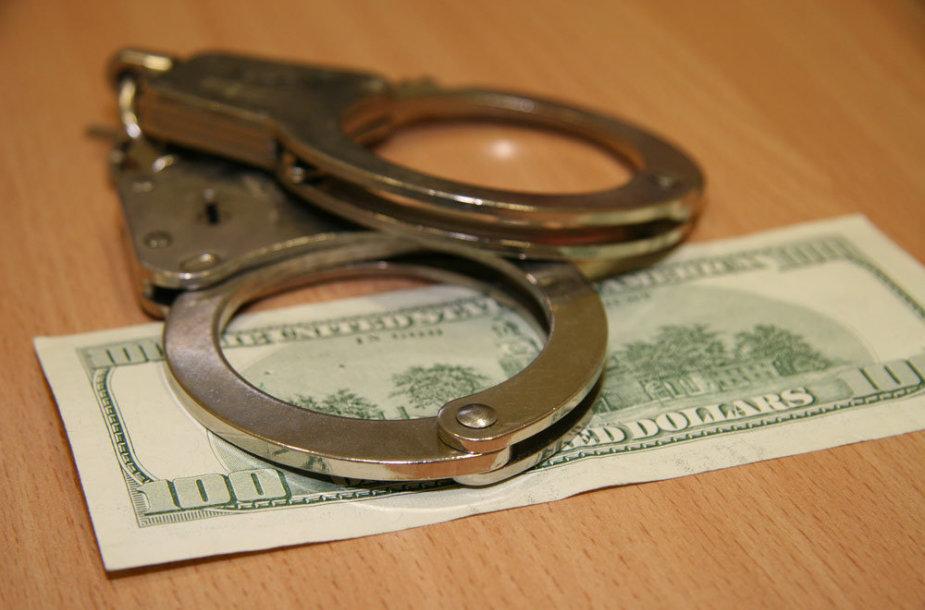 Asociatyvinė iliustracija: korupcija