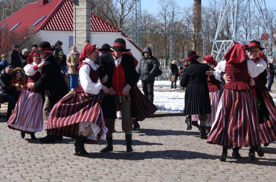 Šaktarpio šventė rusniškiams dovanojo ledonešį