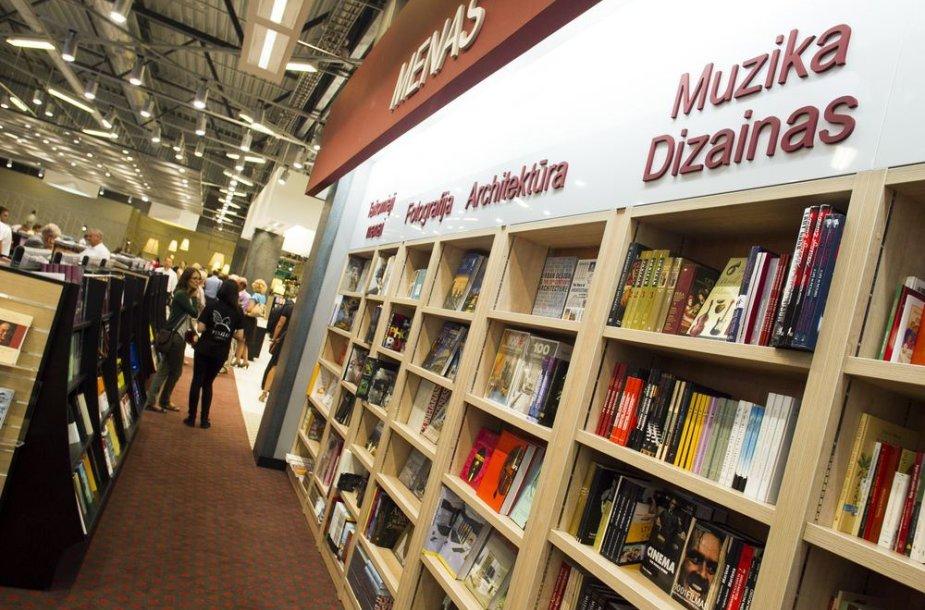Didžiausio Baltijos šalyse knygyno atidarymas