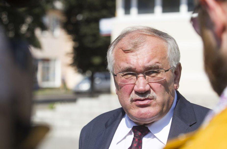 Baltarusijos energetikos ministro pavaduotojas Michailas Michadiukas