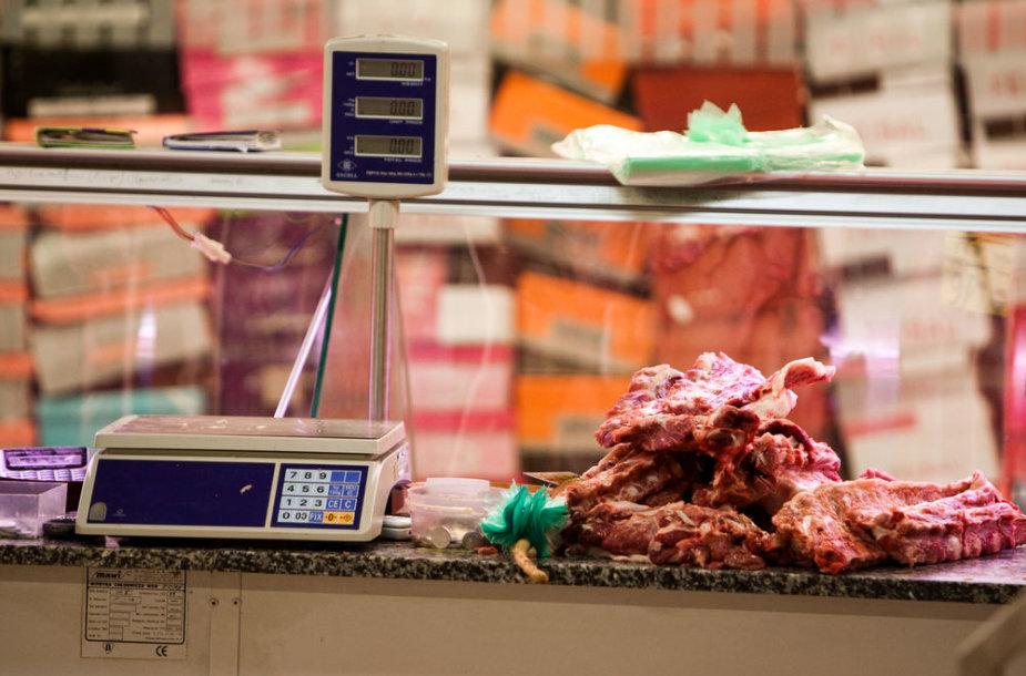 Estijoje brangsta maisto produktai.
