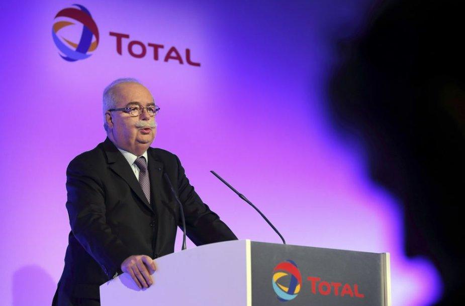 "Prancūzijos naftos milžinės ""Total"" vadovas Christophe de Margerie"