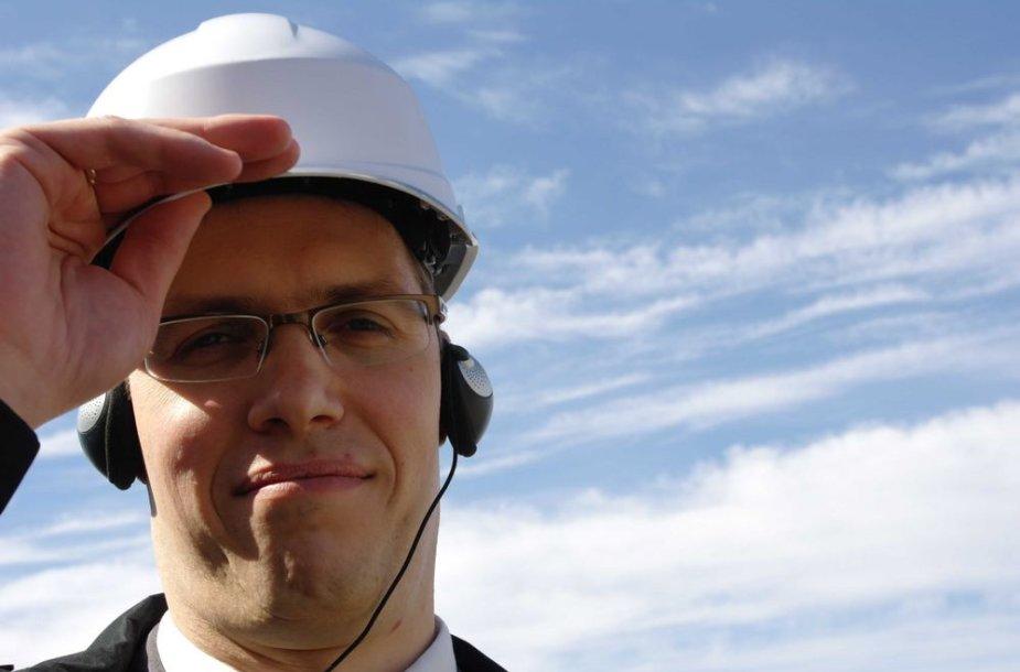 """""""Latvenergo"""" pardavimų plėtros skyriaus vadovas Gatis Junghans"""