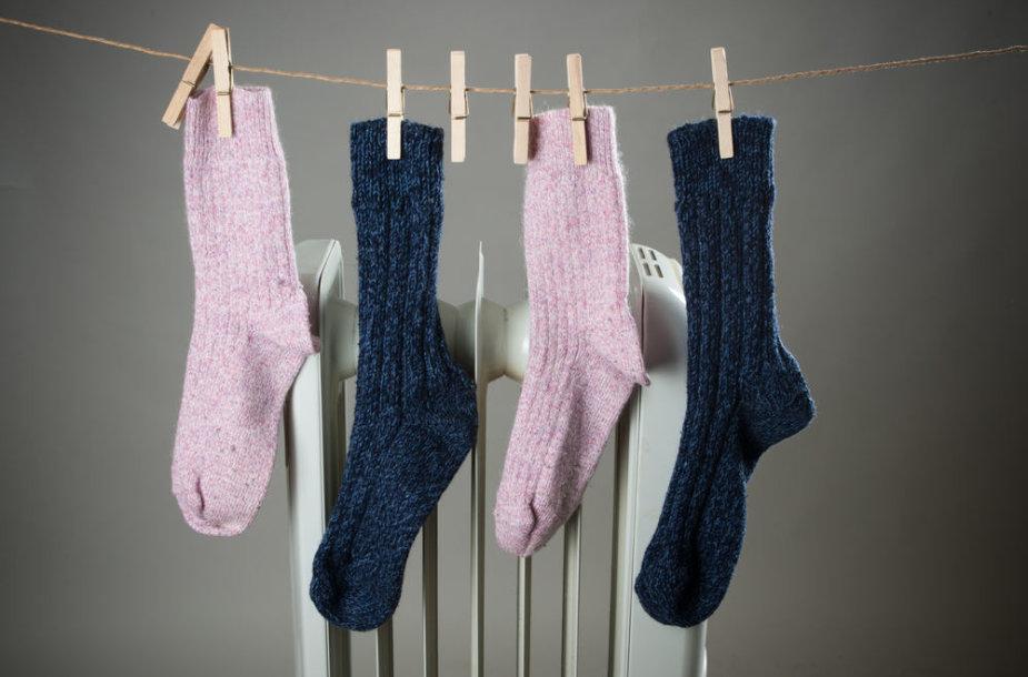 Džiūstančios kojinės