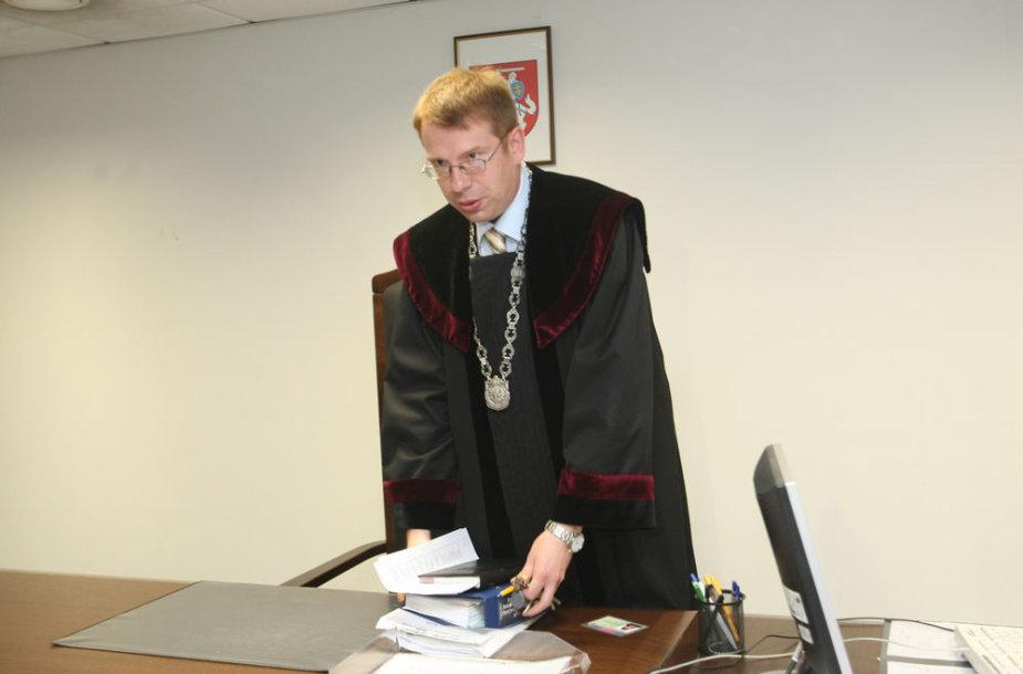 Teisėjas Gediminas Viederis