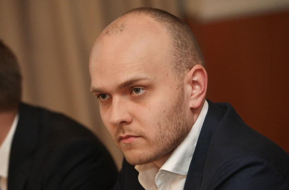 """""""Air Lituanica"""" komercijos direktorius Simonas Bartkus"""