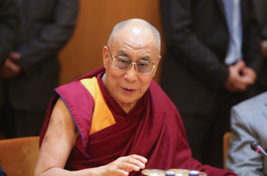 Tibeto dvasinis lyderis Dalai Lama Seime