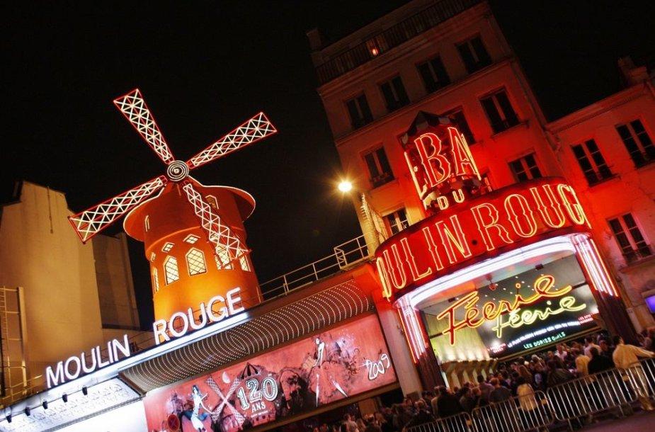 """""""Moulin Rouge"""" kabaretas Paryžiuje"""