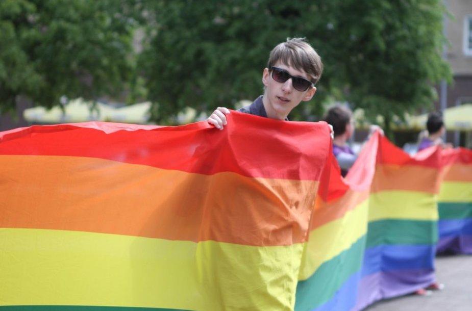 Akcija prieš homofobiją