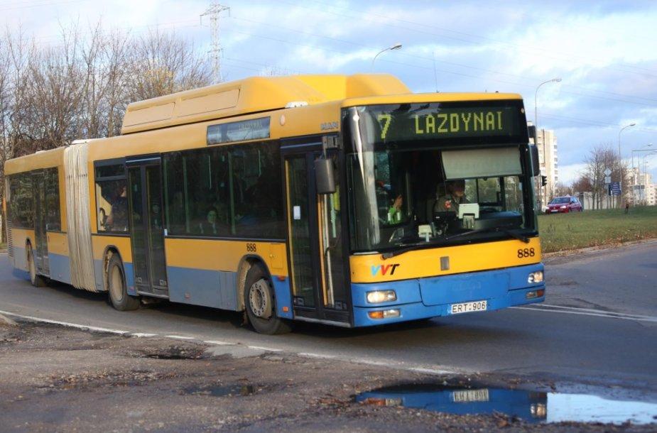 7 maršruto autobusas Vilniuje