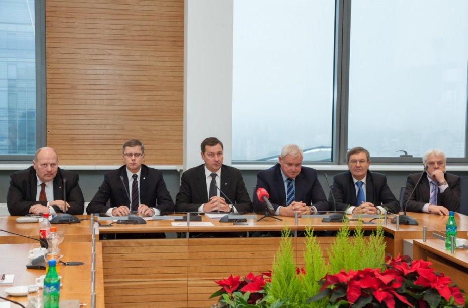 Didžiųjų Lietuvos miestų merai