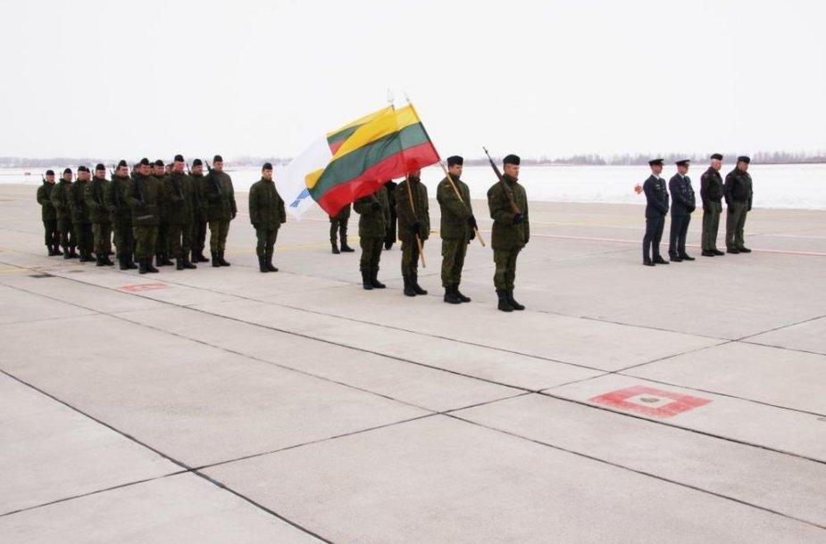 Lietuvos ir Danijos gynybos ministrų susitikimas