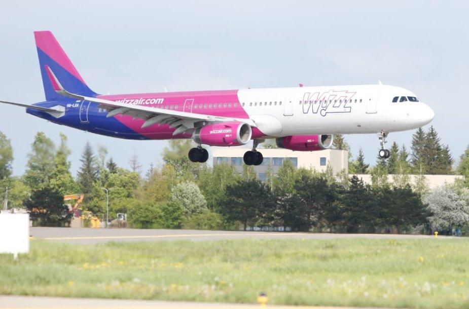 """""""Wizz Air"""" lėktuvas Airbus A321"""