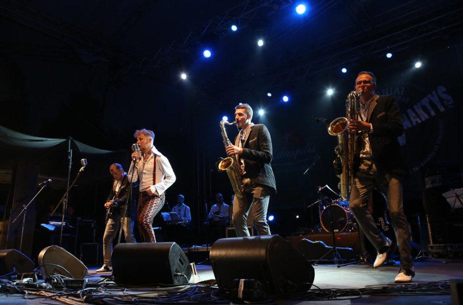 "Festivalio ""Bliuzo naktys 2015"" akimirka"