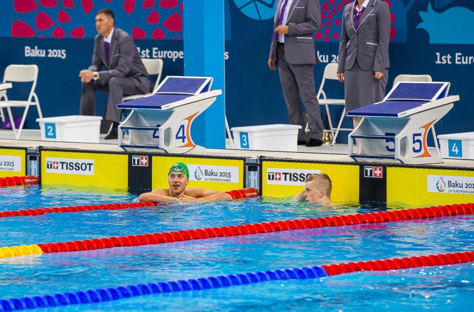 Andrius Šidlauskas tapo Europos žaidynių čempionu