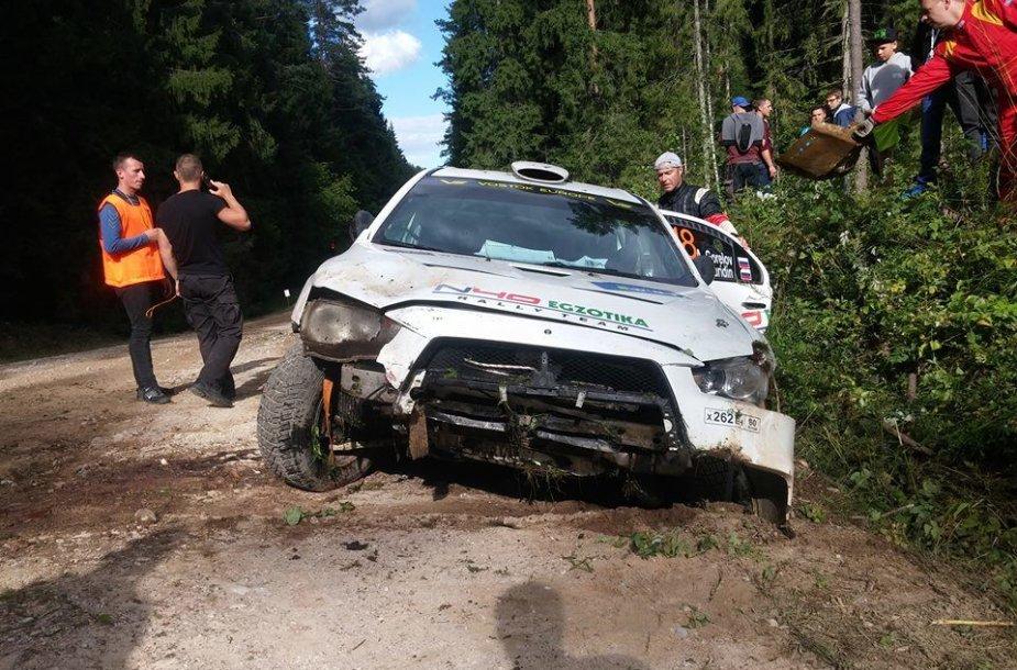 Alexanderio Gorelovo avarija