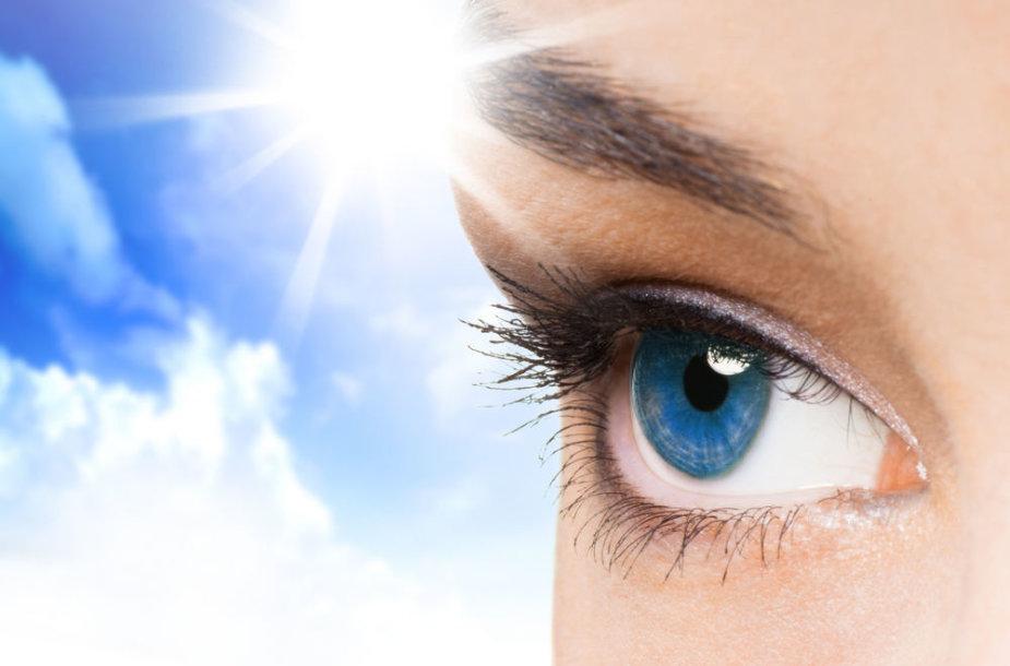 Vasaros pavojus akims gali padėti įveikti nanotechnologijos