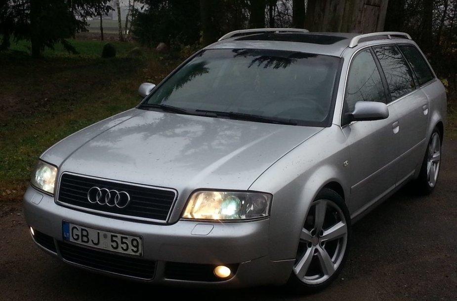 """Pavogtas """"Audi A6"""""""