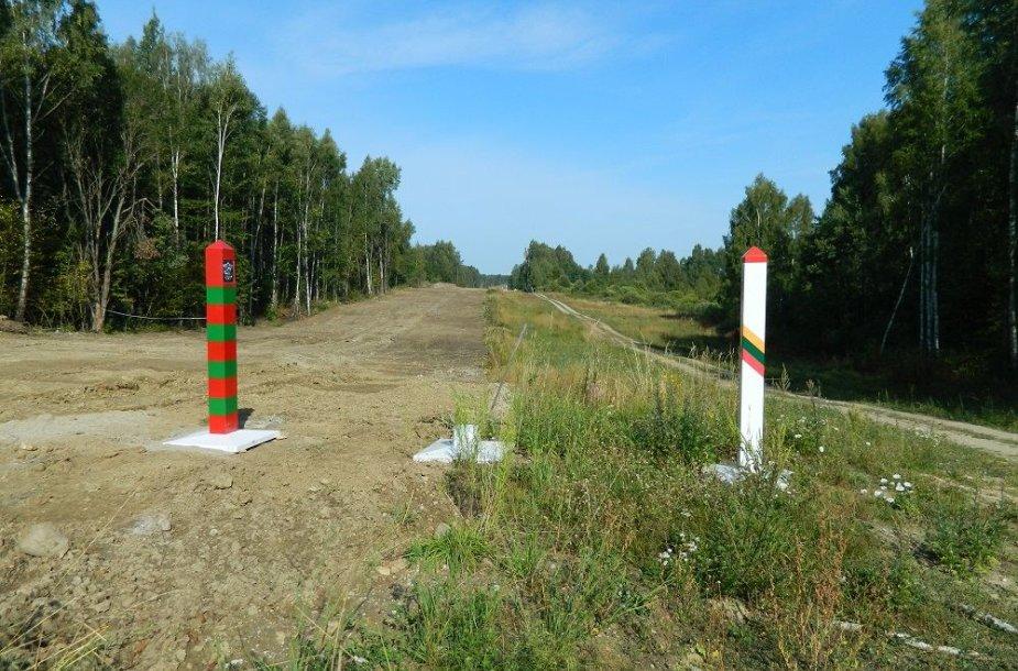 Lietuvos siena su Rusija taps labiau apčiuopiama