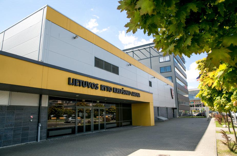 """Vilniaus """"Lietuvos ryto"""" krepšinio arena"""