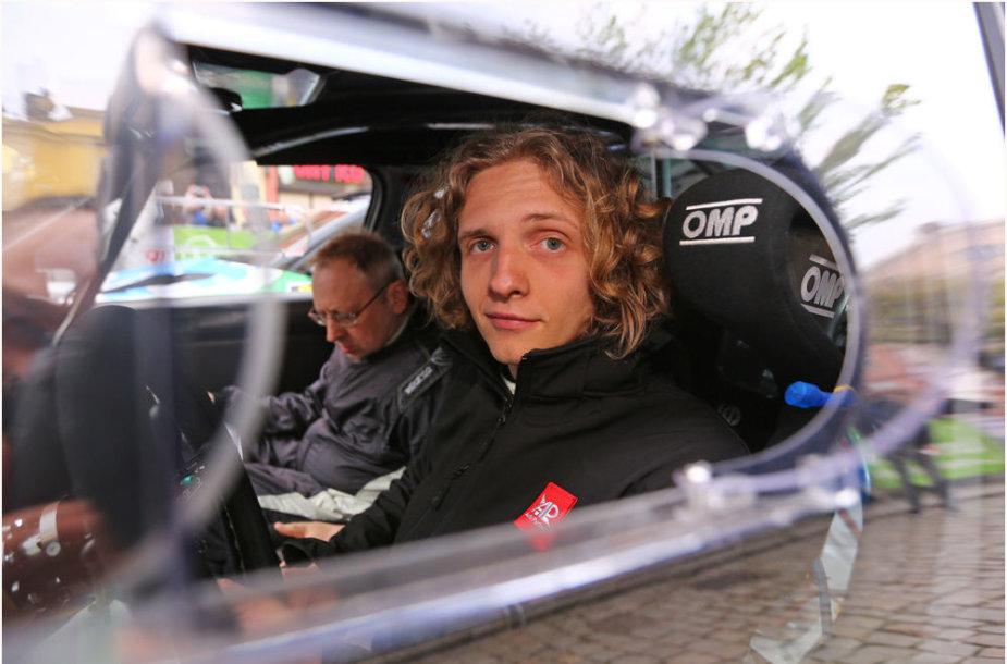 Dominykas Butvilas Lenkijos ralio čempionate