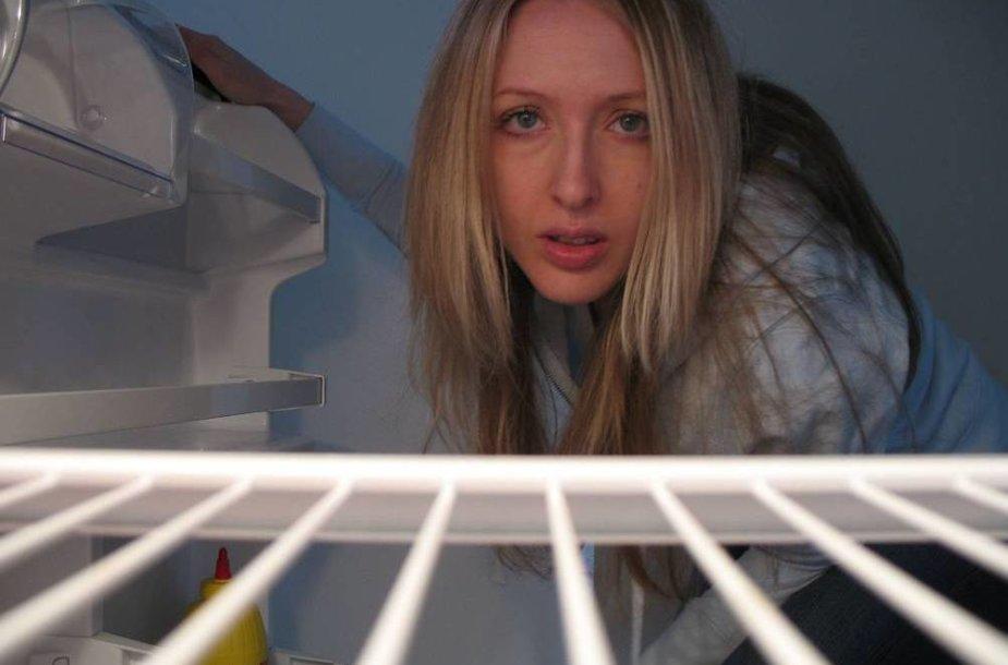 Kaip ant šaldytuvo uždėti spyną?