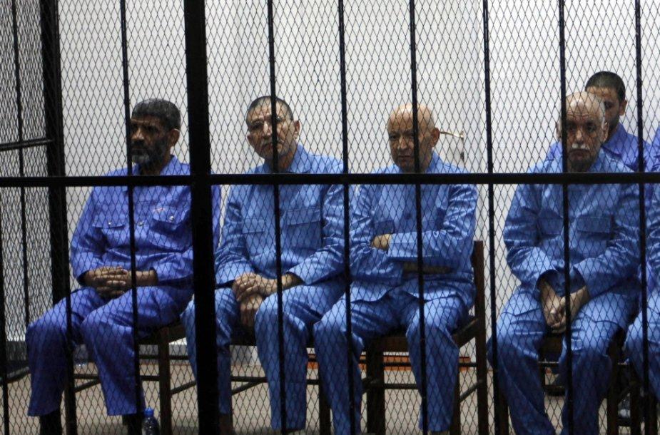Teisiami nuversto Libijos režimo pareigūnai