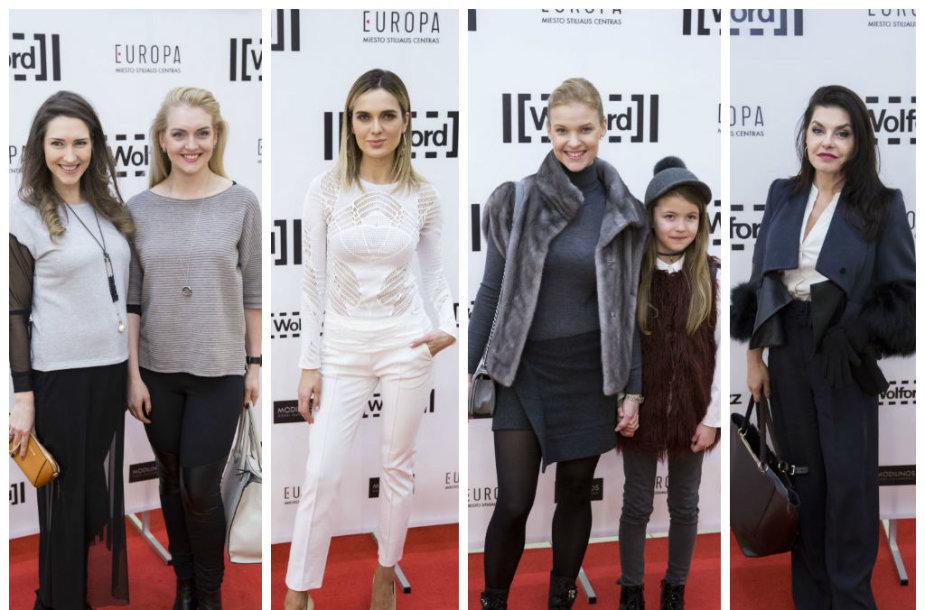 Rūta Ščiogolevaitė, Asta Valentaitė, Vilma Javtokienė su dukra, Kristina Kaikarienė