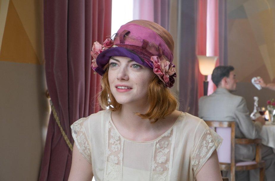 "Emma Stone filme ""Mėnesienos magija"""