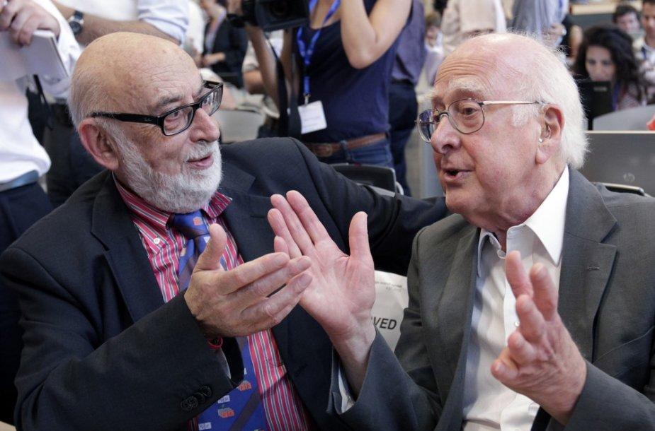 Francois Englertas ir Peteris Higgsas