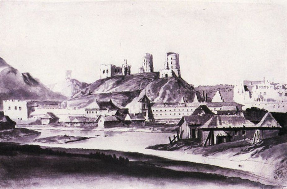 Vilniaus panorama XVII a. pab.
