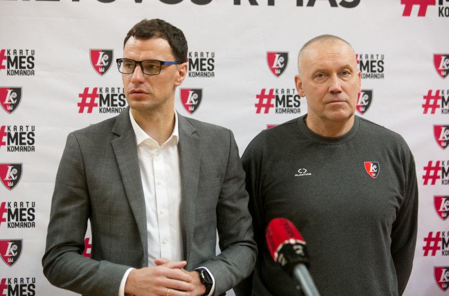 Darius Gudelis ir Rimas Kurtinaitis