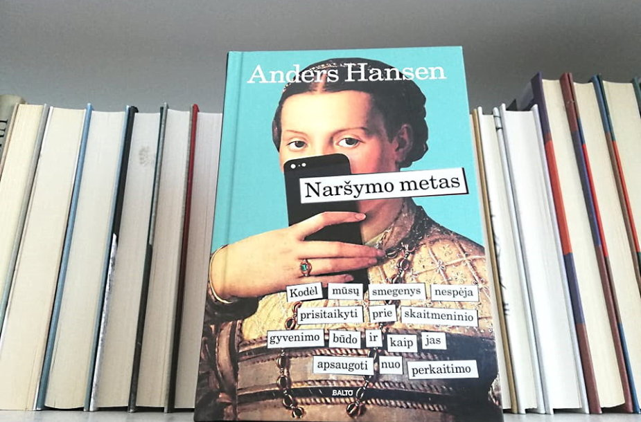 """Anderso Hanseno knyga """"Naršymo metas"""""""