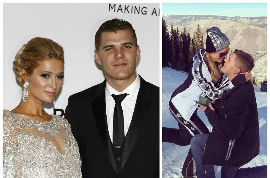 Paris Hilton ir Chrisas Zylka