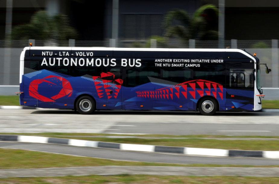"Autonominis ""Volvo"" elektrinis autobusas"
