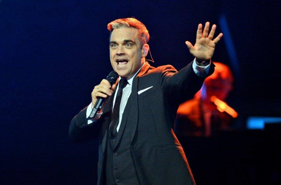 Robbie Williamsas švenčia 40-ąjį gimtadienį