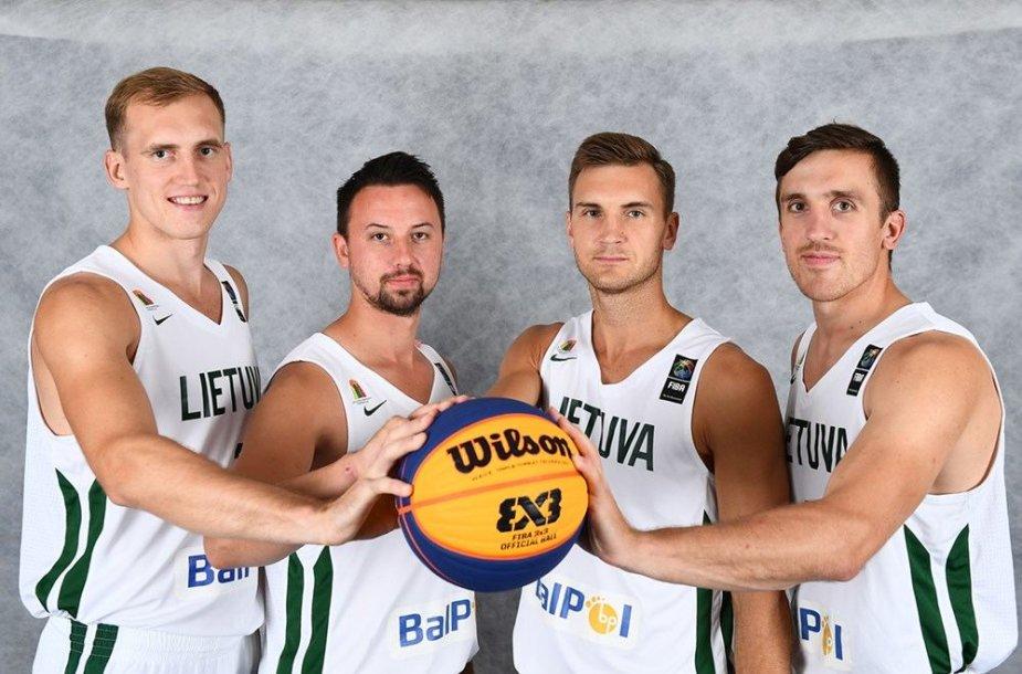 Lietuvis 3x3 krepšinio rinktinė