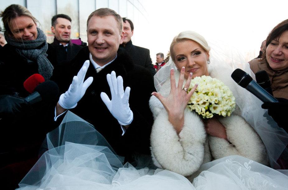 Andrius Šedžius ir Monika Kvietkutė