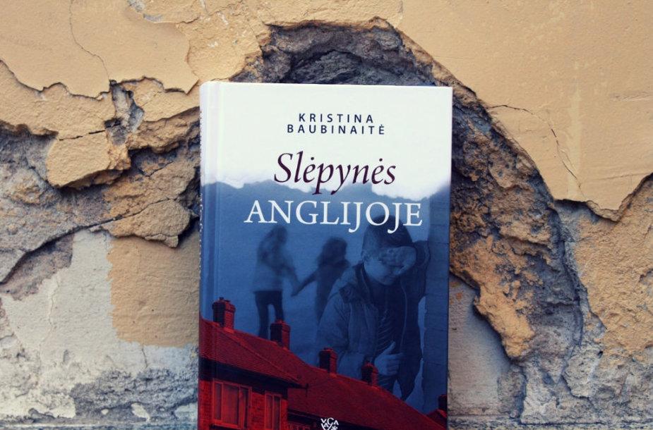 """Kristinos Baubinaitės romanas """"Slėpynės Anglijoje"""""""