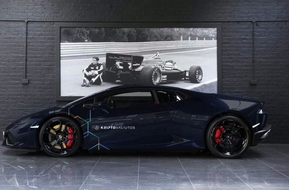 "Pauliaus Aršausko įsigytas ""Lamborghini Huracan"""