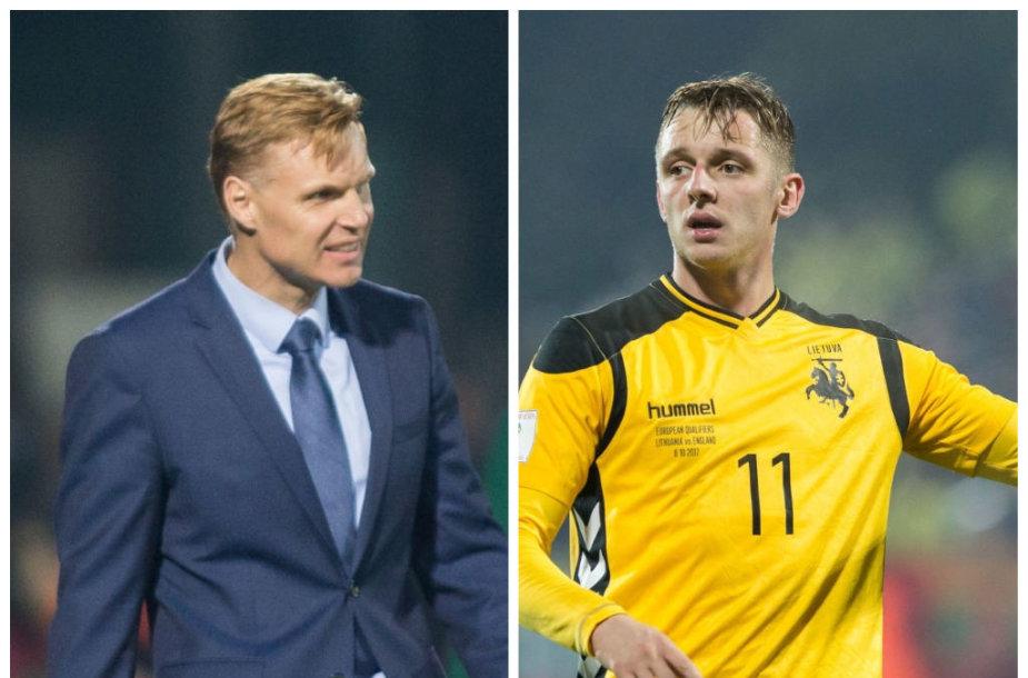 Edgaras Jankauskas ir Arvydas Novikovas