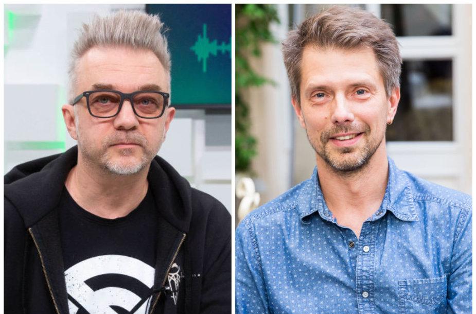 Andrius Mamontovas ir Giedrius Masalskis