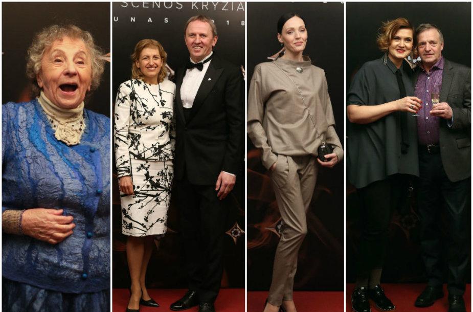 Regina Varnaitė, Liana Ruokytė-Jonsson ir Egidijus Stancikas, Beata Molytė, Daiva Rudokaitė ir Remigijus Vilkaitis