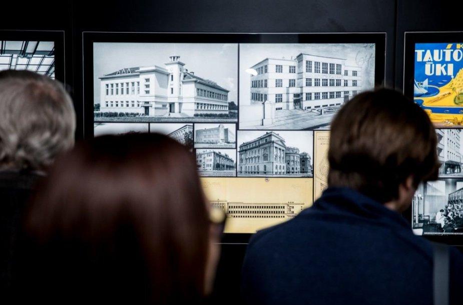 """Kauno modernizmo architektūros tarptautinė kilnojamoji paroda """"Optimizmo architektūra: Kauno fenomenas 1918-1940 m."""""""