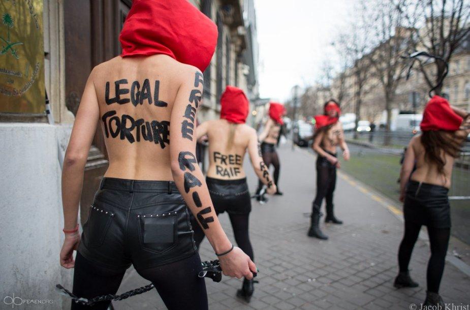 """""""Femen"""" aktyvisčių akcija"""